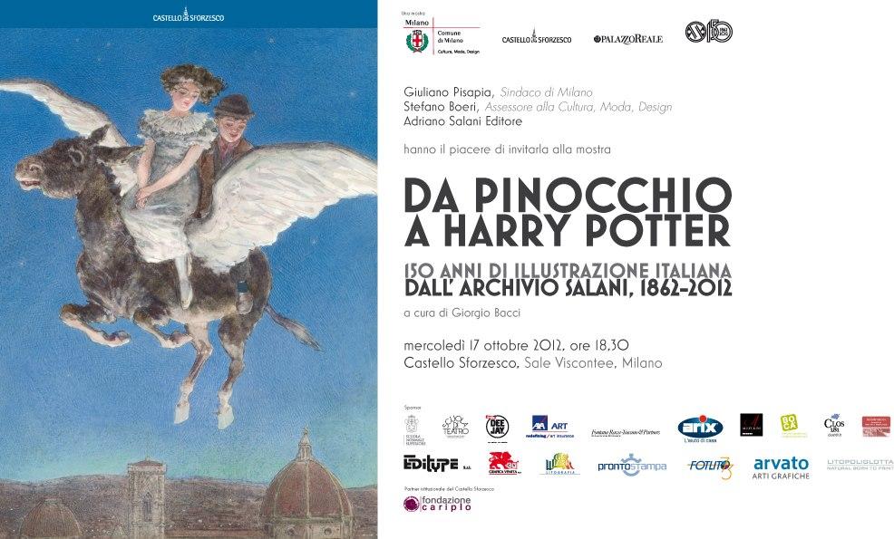 Mostra Salani  'Da Pinocchio a Harry Potter. 150 anni di illustrazione italiana dall'Archivio Salani. 1862-2012